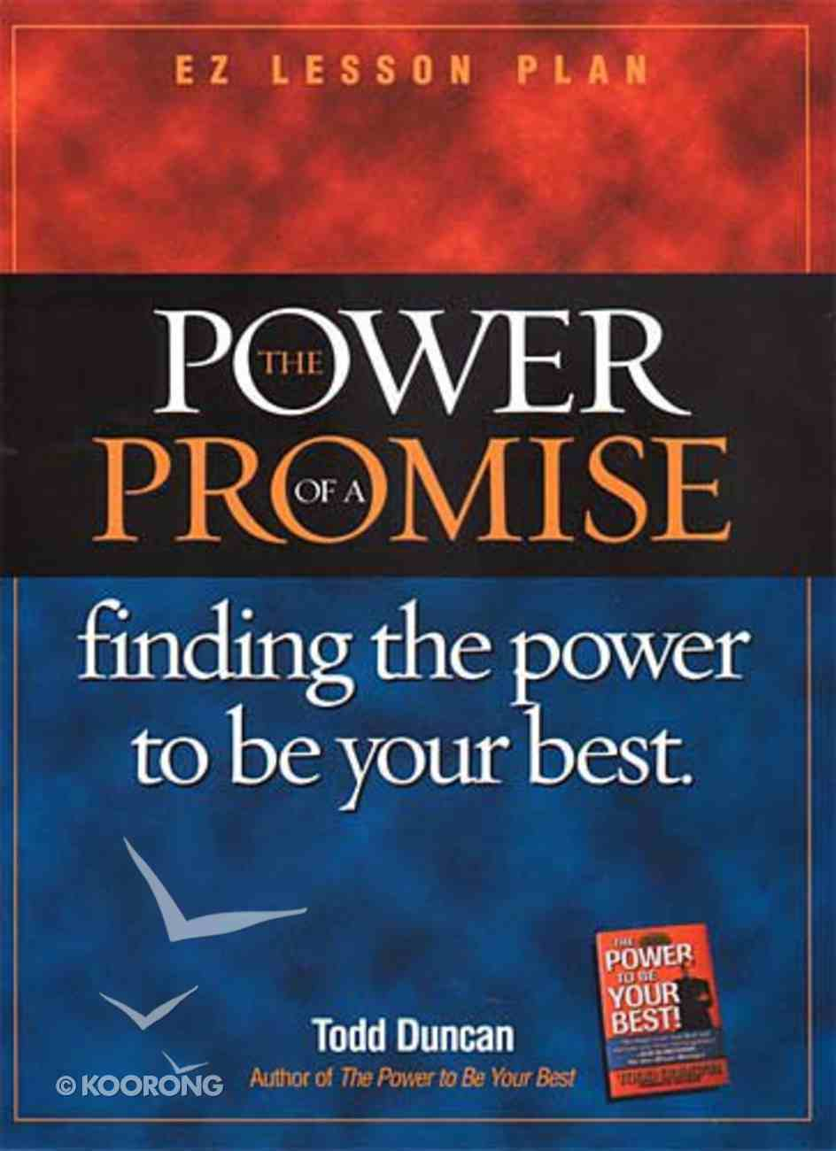 Power of a Promise (Participants Guide) Paperback