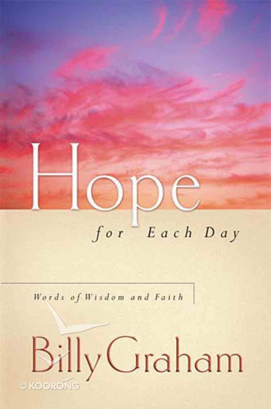 Hope For Each Day Hardback