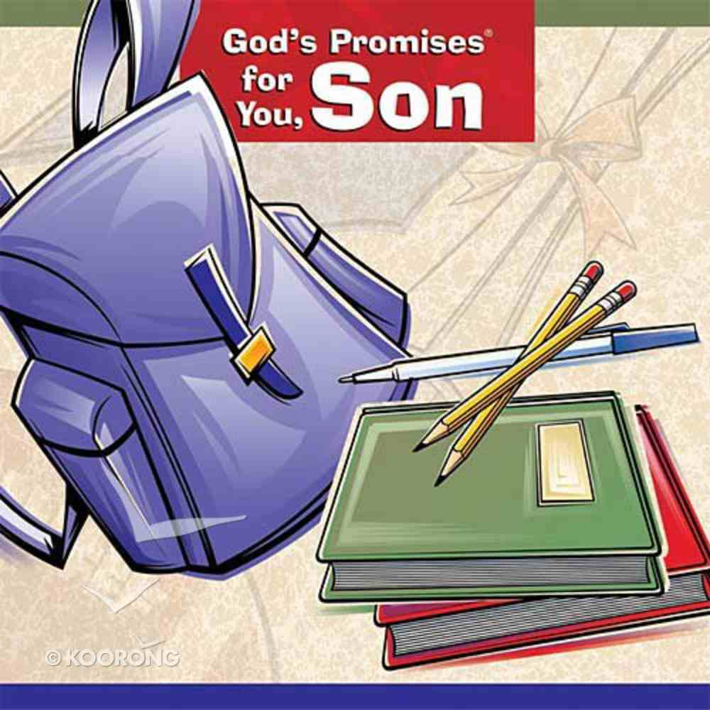 God's Promises For You, Son Hardback