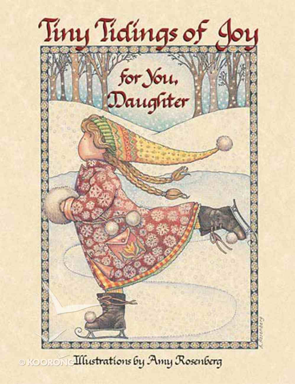 Tiny Tidings of Joy For You, Daughter Hardback
