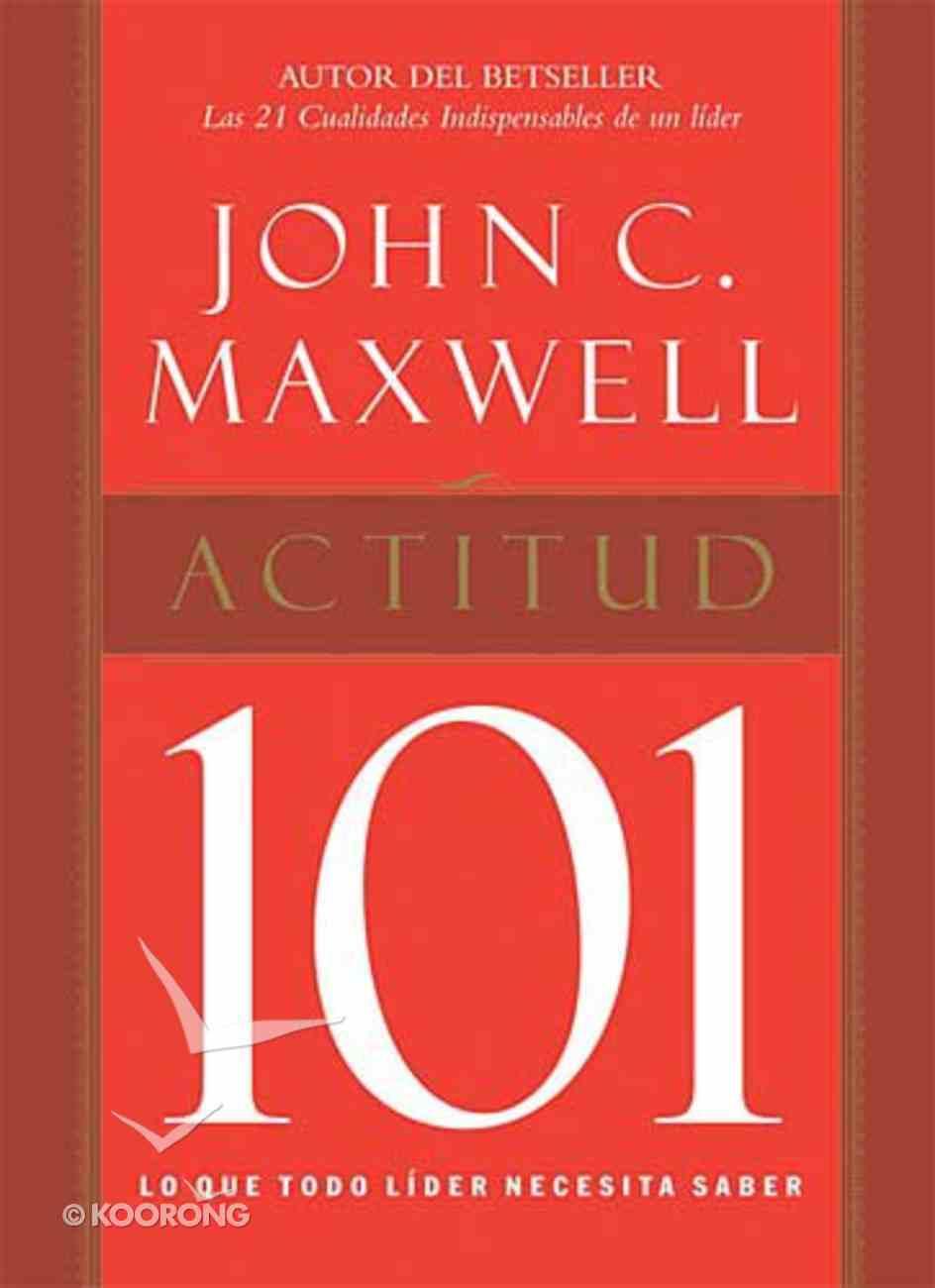 Actitud 101 (Attitude 101) Hardback