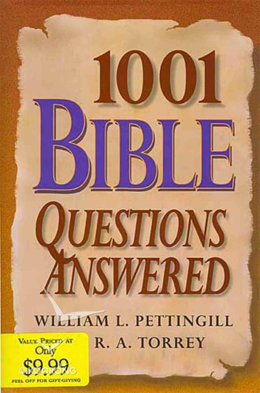 1001 Bible Questions Answered Hardback