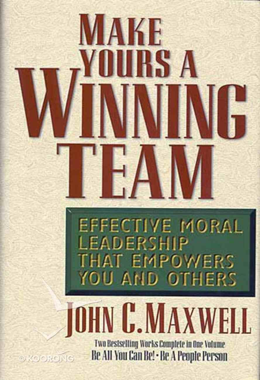 Make Yours a Winning Team Hardback