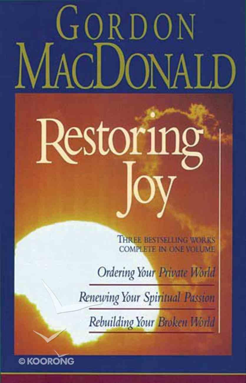 Restoring Joy Hardback