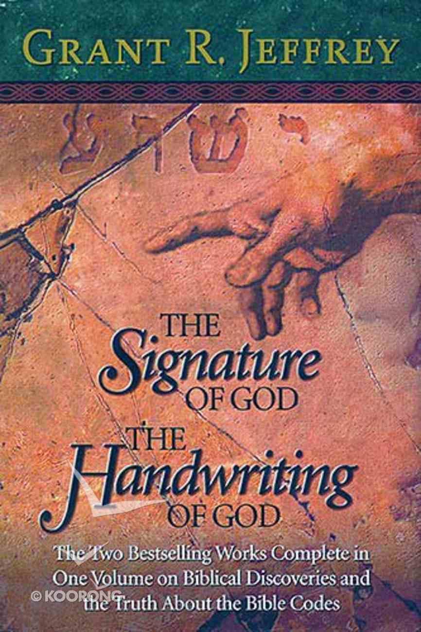 Signature of God, The/The Handwriting of God Hardback