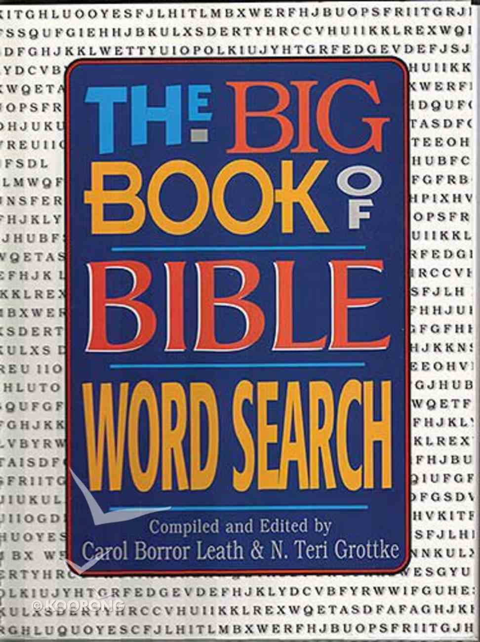 The Big Book of Bible Word Search Paperback