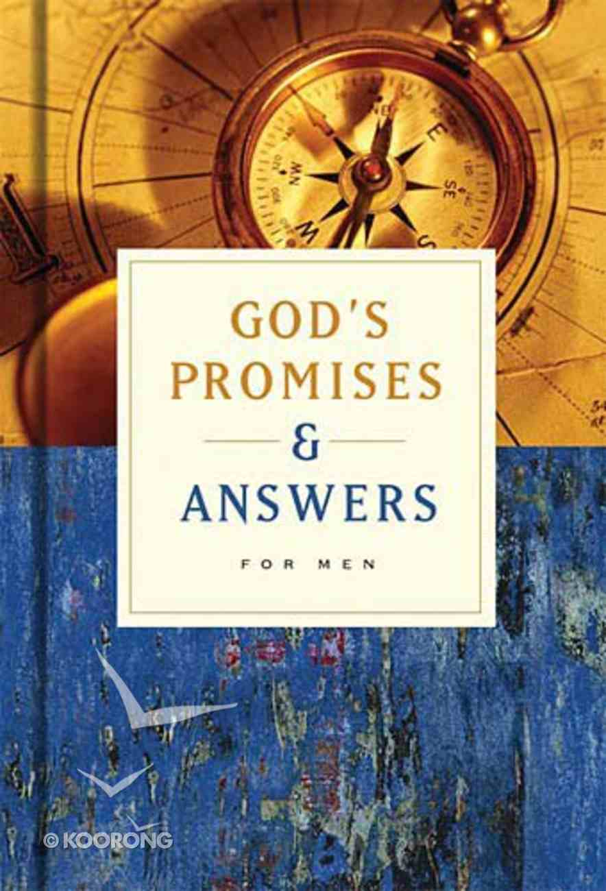 God's Promises and Answers For Men Hardback