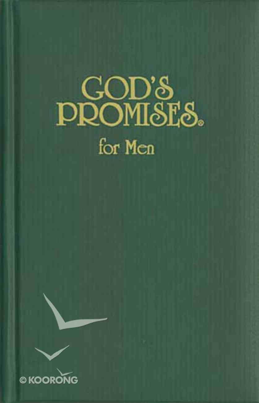 God's Promises For Men Hardback