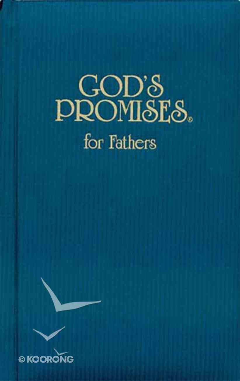 God's Promises For Fathers Hardback