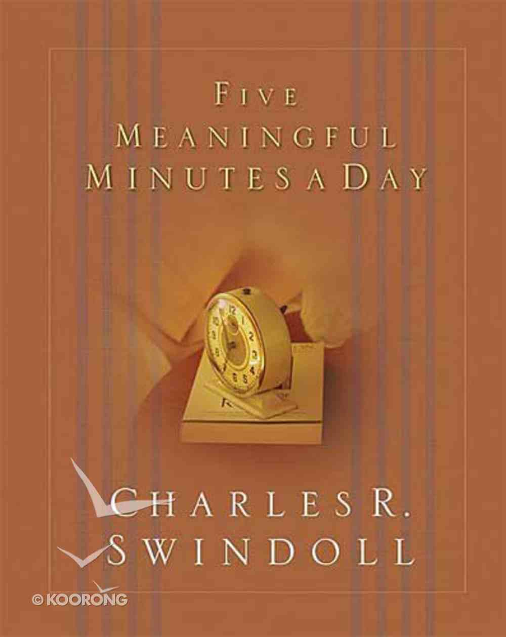 Five Meaningful Minutes a Day Hardback
