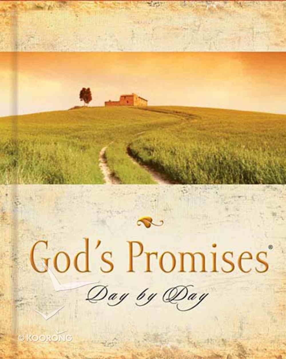 God's Promises Day By Day Hardback