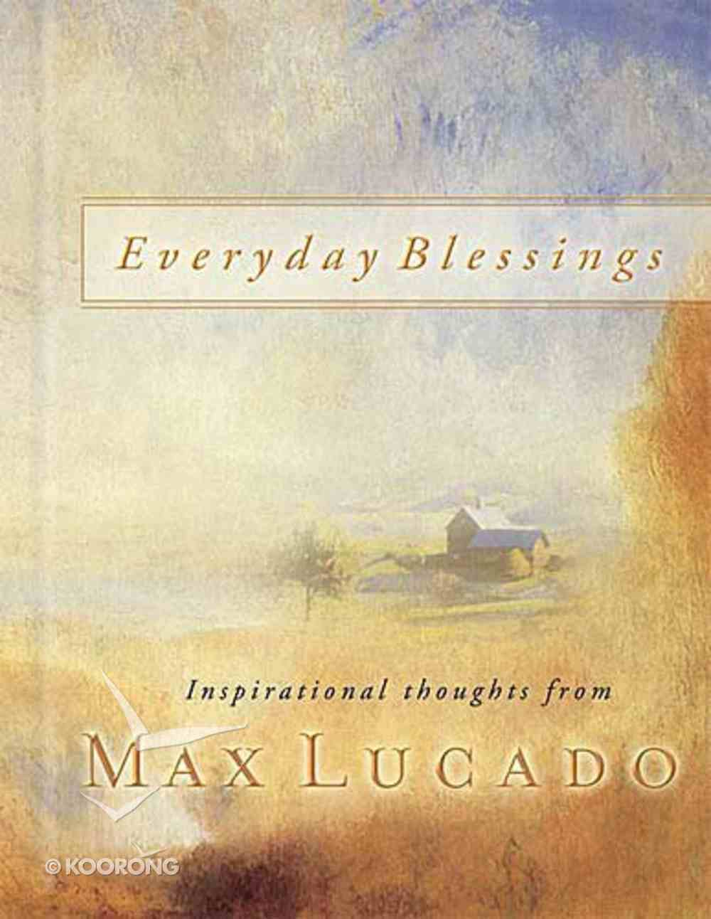 Everyday Blessings Hardback