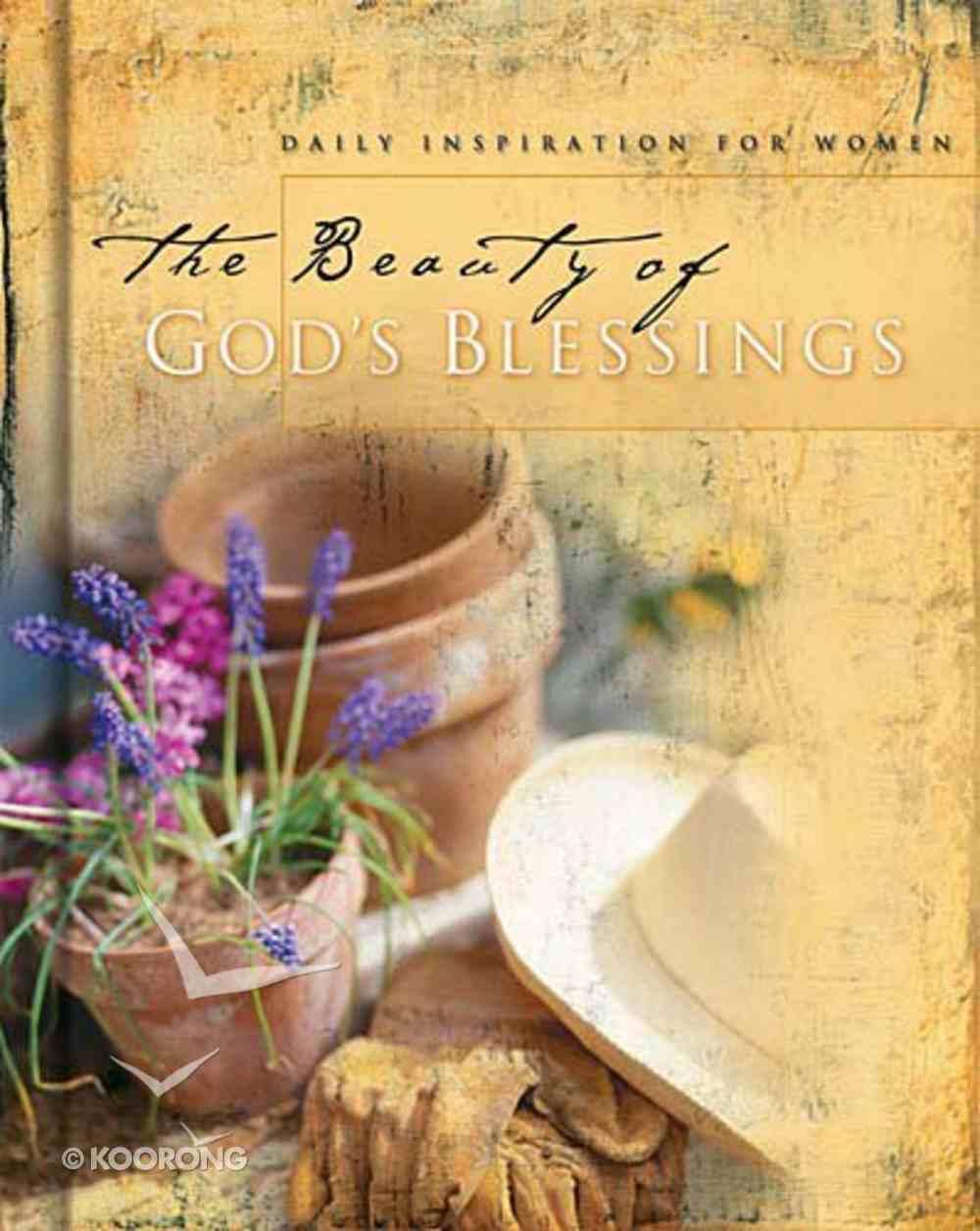 The Beauty of God's Blessings Hardback