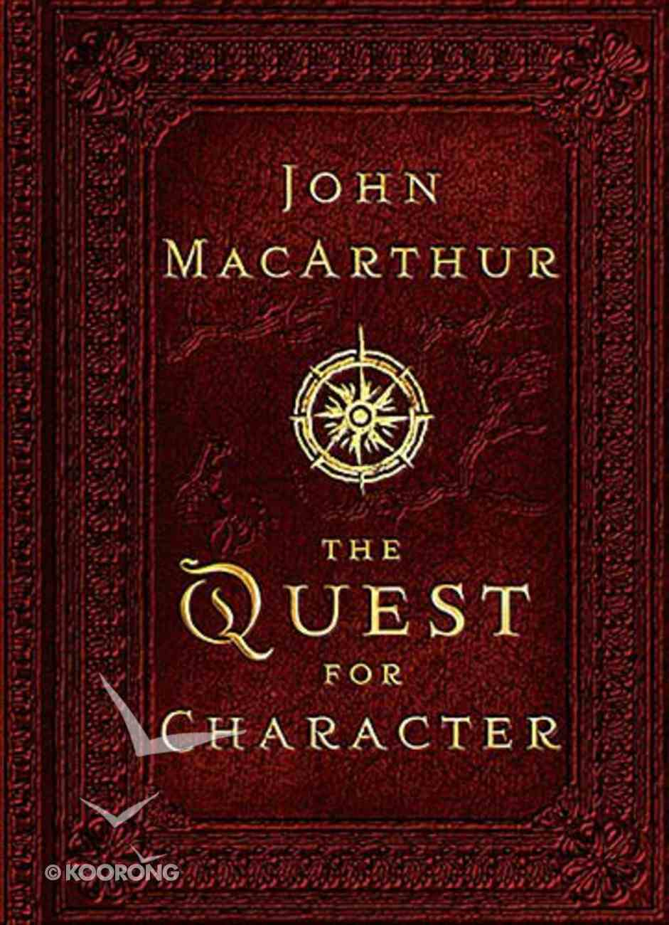 The Quest For Character Hardback