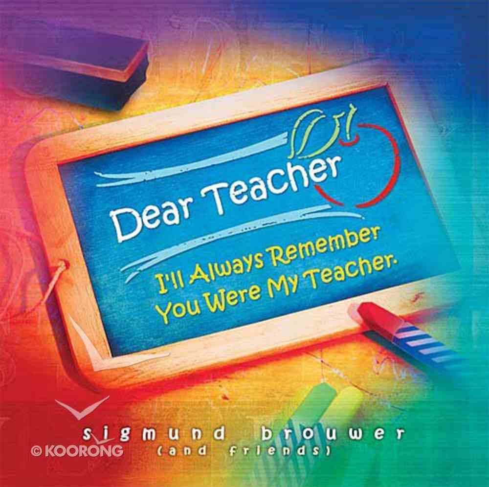 Dear Teacher Hardback
