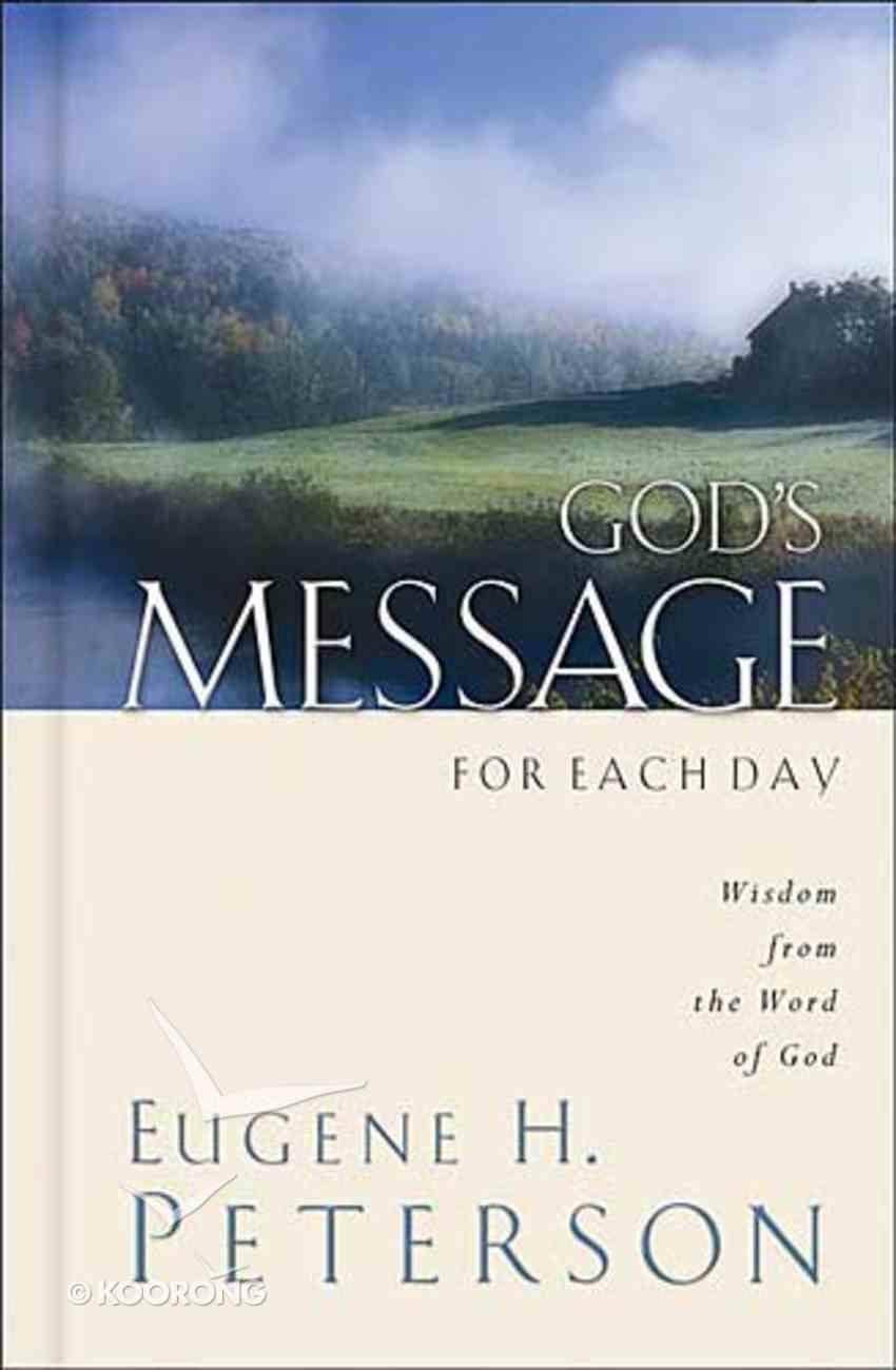 God's Message For Each Day Hardback