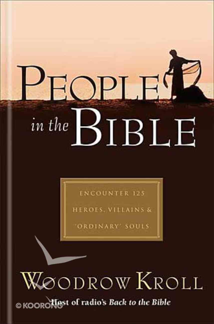 People in the Bible Hardback