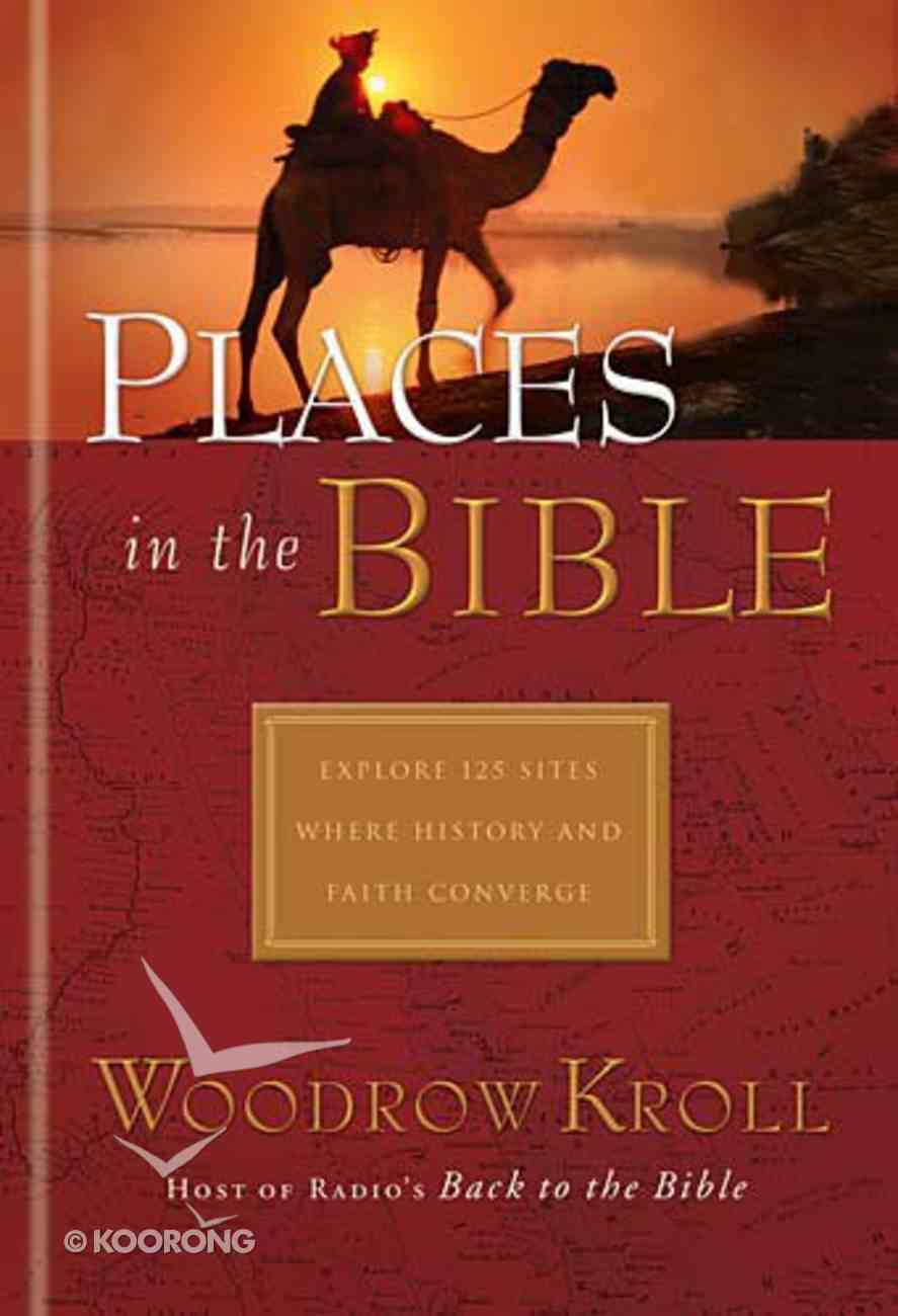 Places in the Bible Hardback