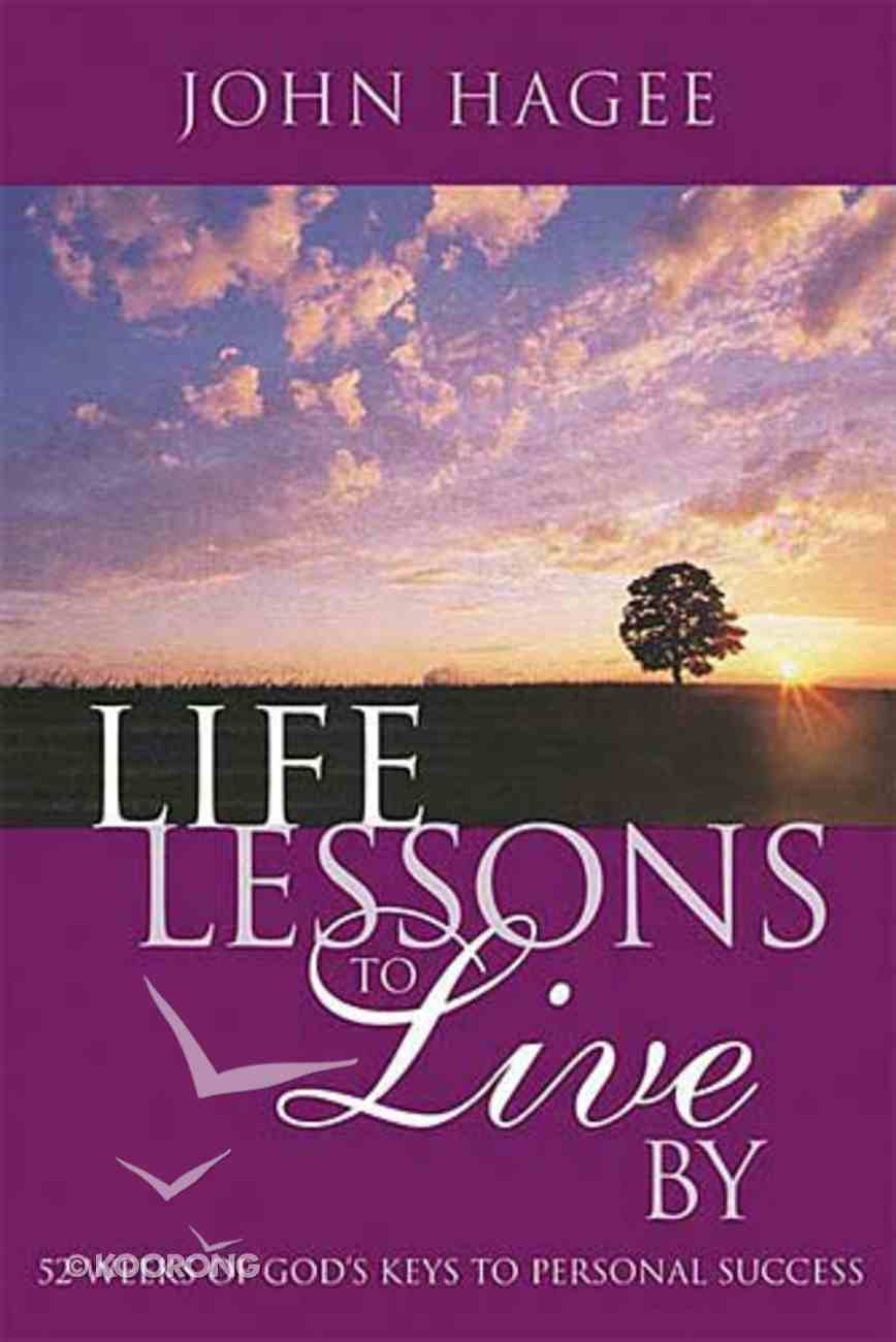 Life Lessons to Live By Hardback