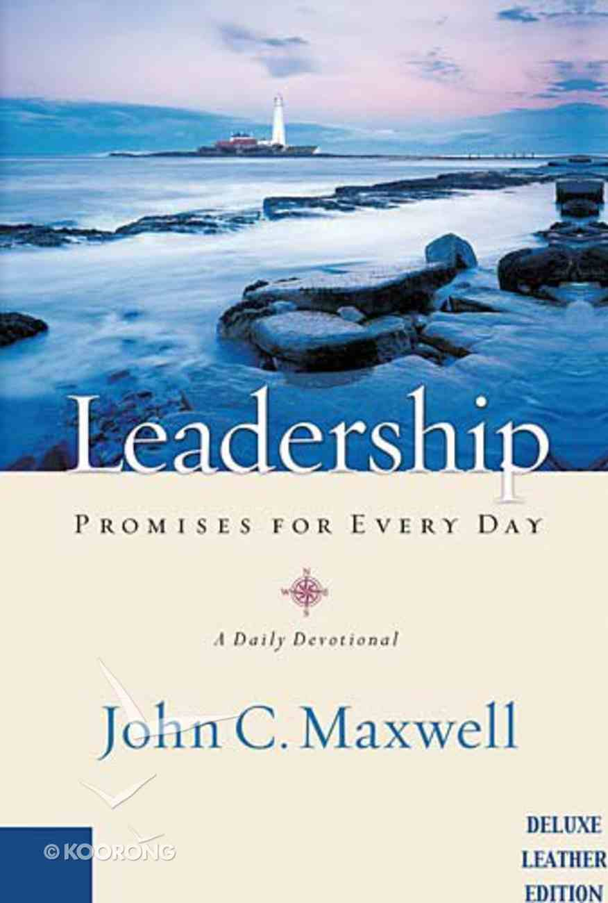 Leadership Promises For Every Day Genuine Leather