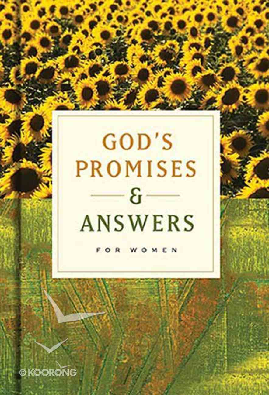 God's Promises and Answers For Women Paperback