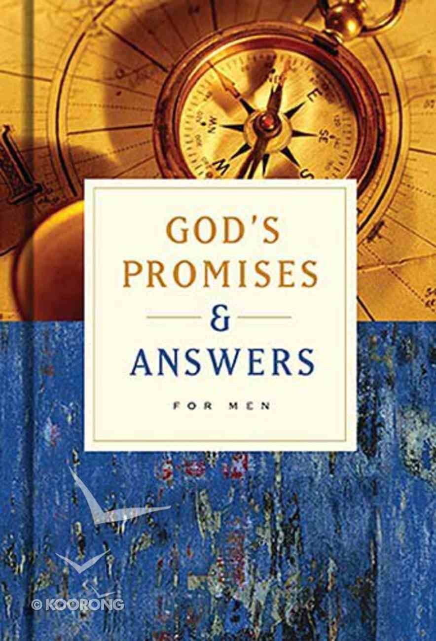 God's Promises and Answers For Men Paperback
