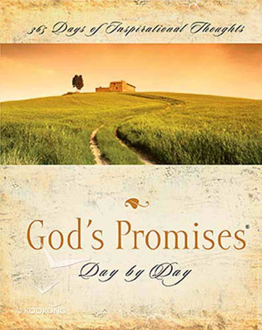 God's Promises Day By Day Paperback