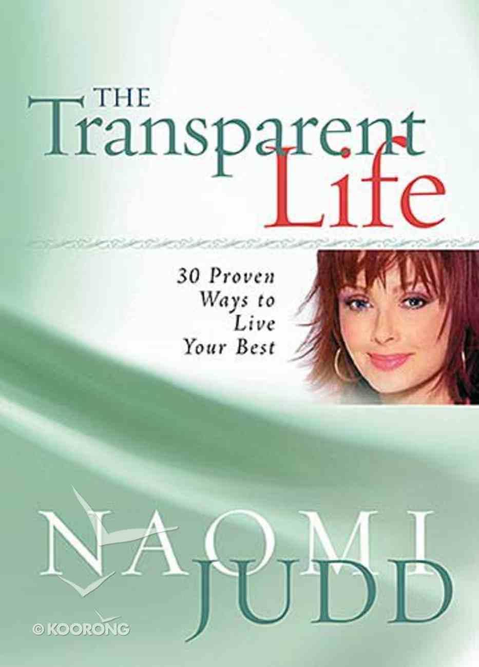 The Transparent Life Hardback