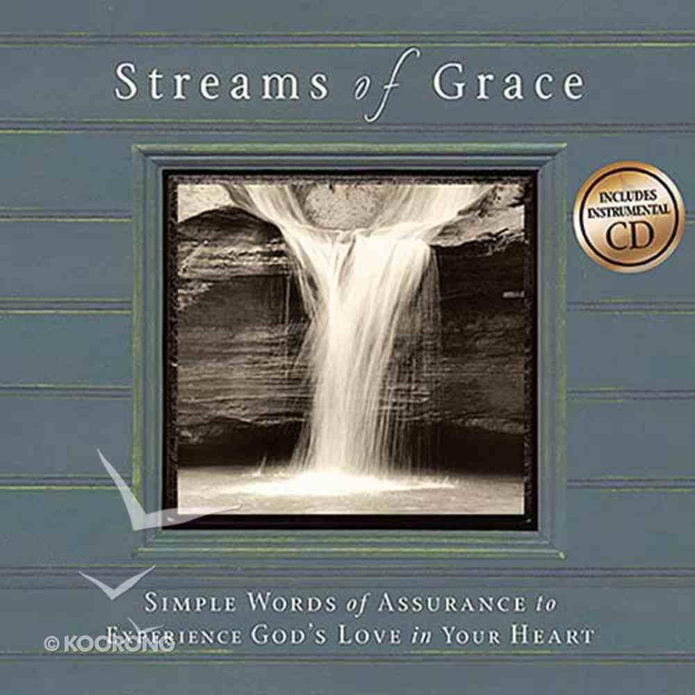 Streams of Grace (Includes Music Cd) Hardback