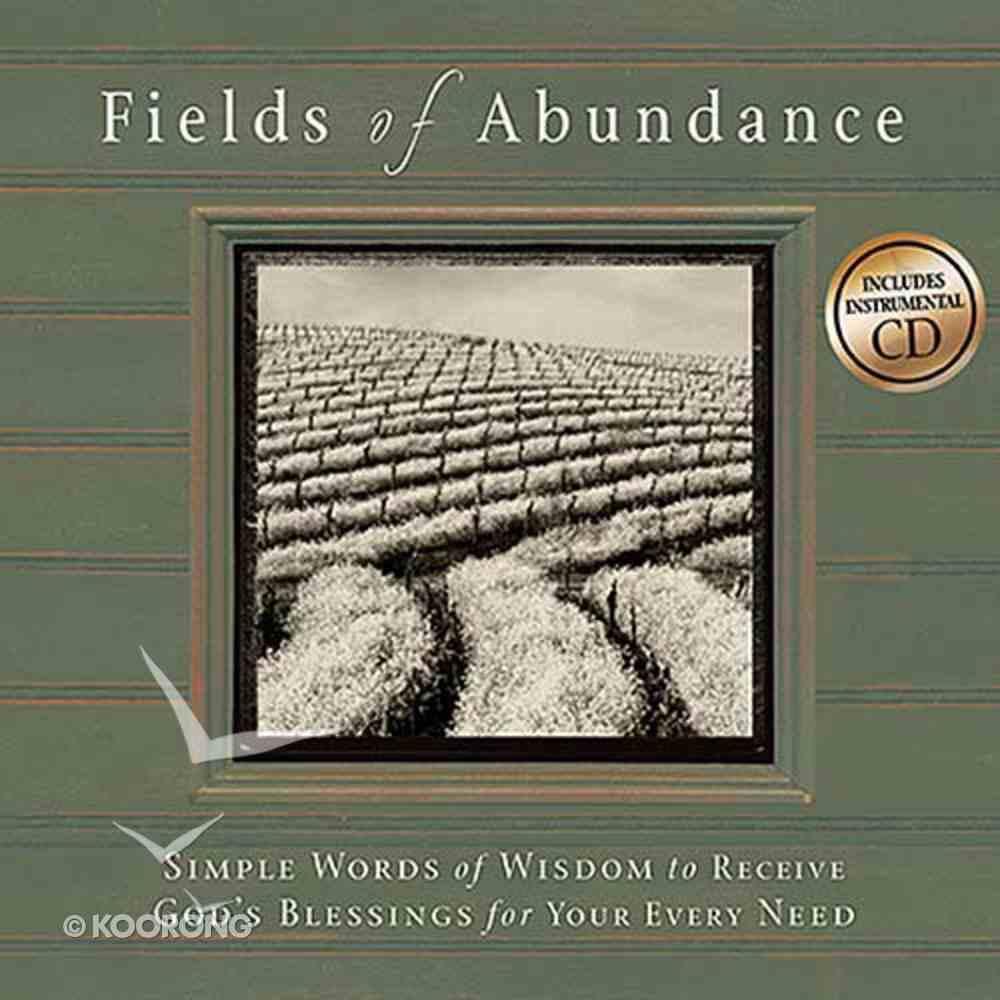 Fields of Abundance (Includes Music Cd) Hardback