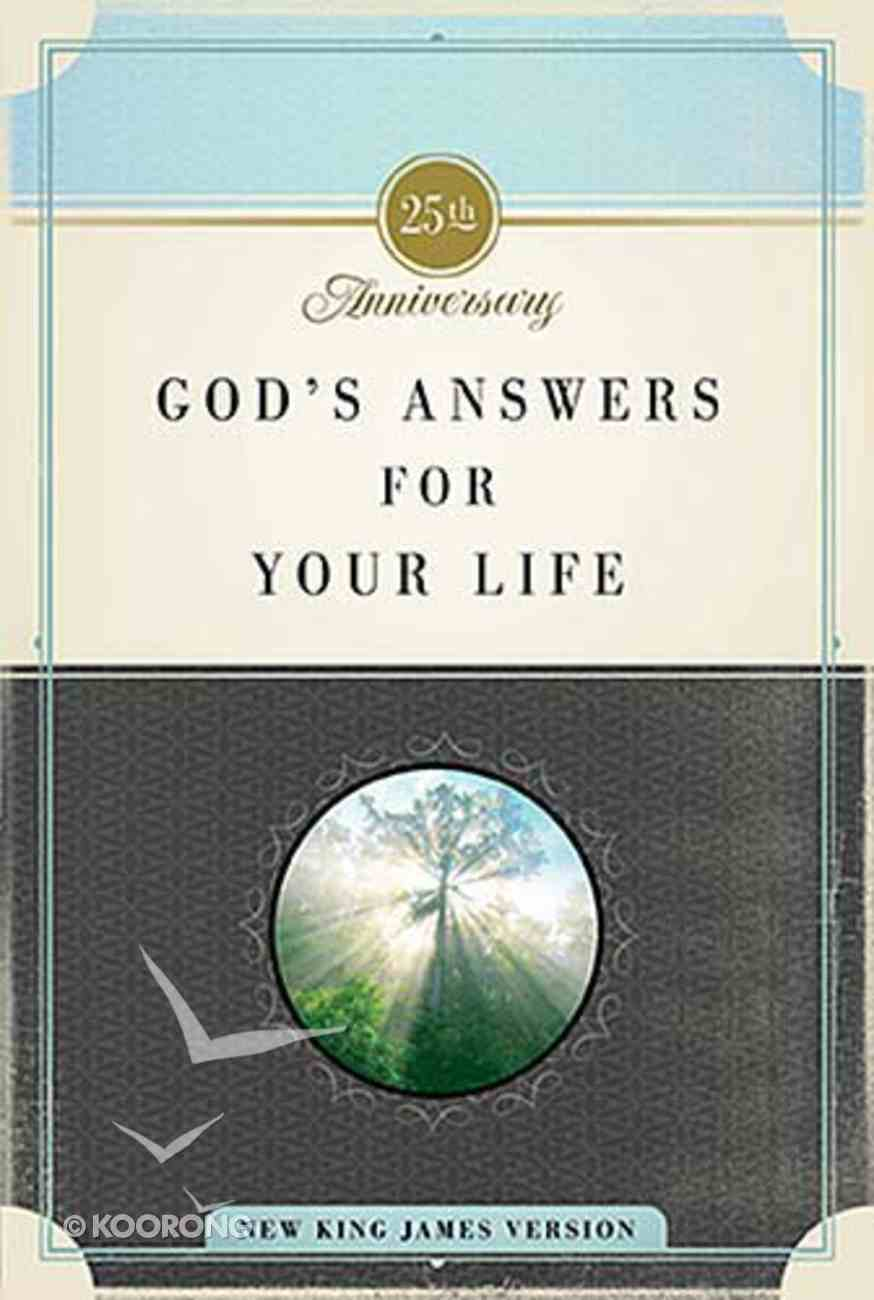 God's Answers For Your Life Paperback
