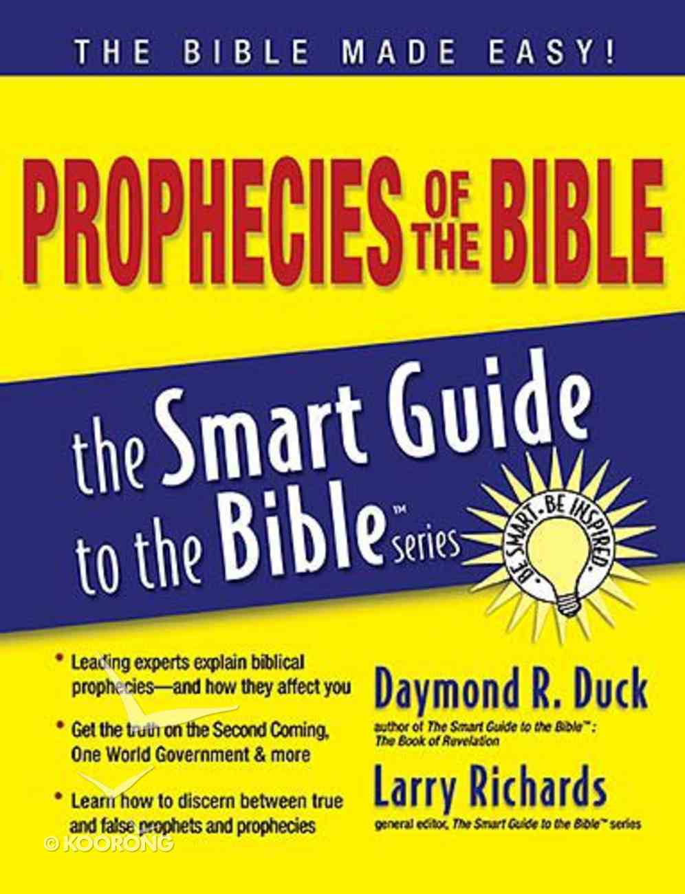 Prophecies of the Bible (Smart Guide To The Bible Series) Paperback