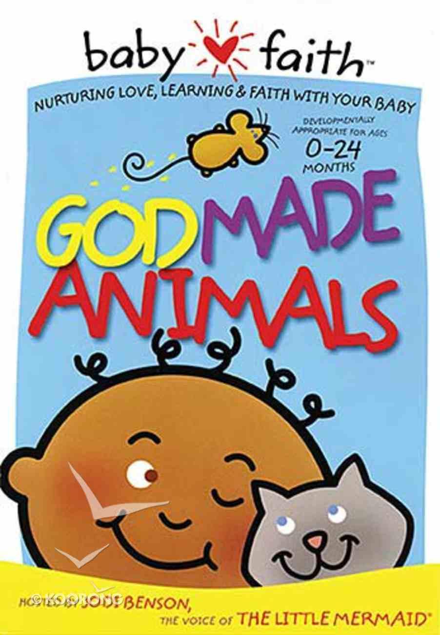 God Made Animals (Baby Faith Series) DVD