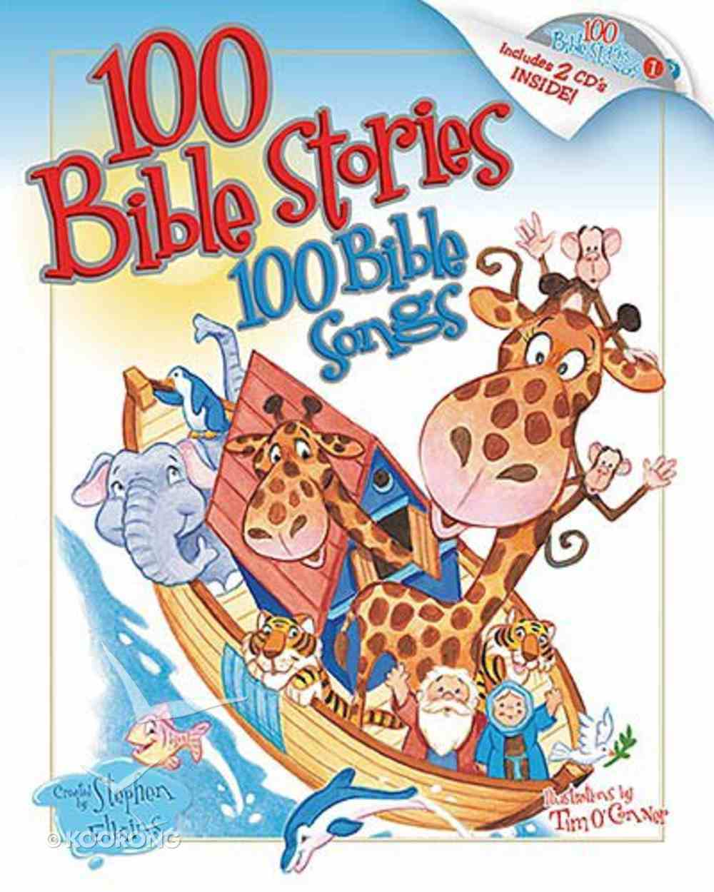 100 Bible Stories, 100 Bible Songs Hardback