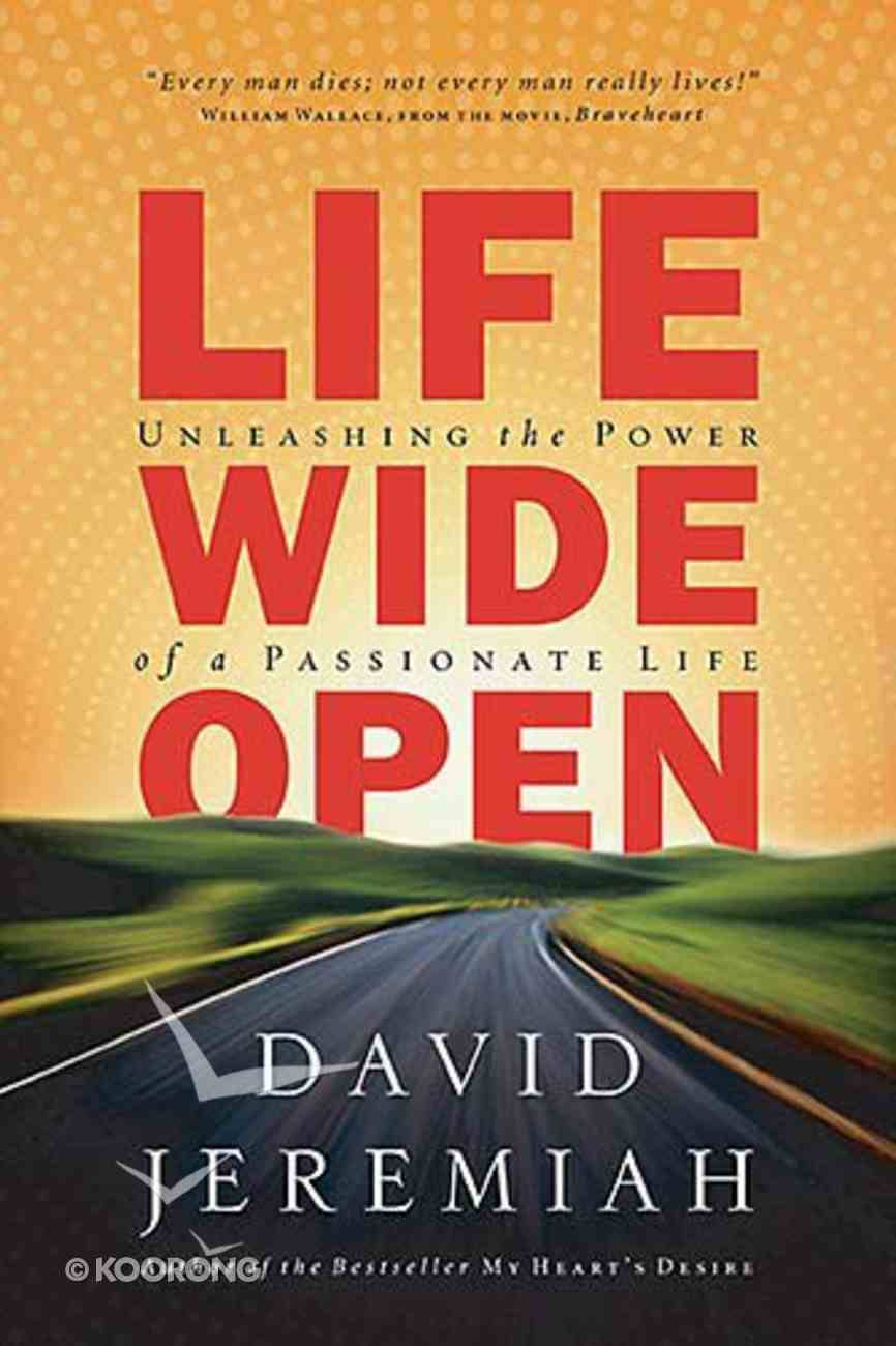 Life Wide Open Paperback