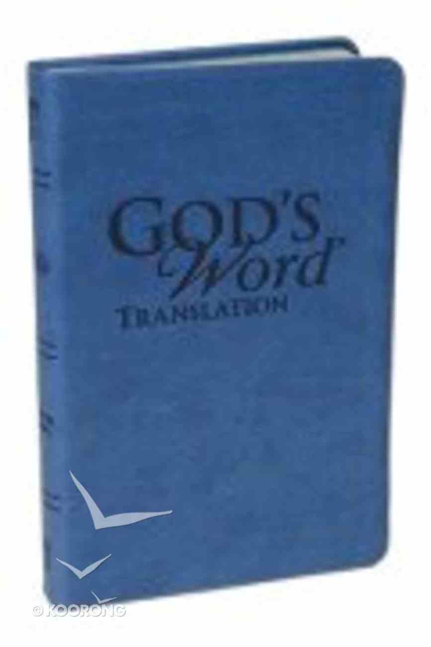 God's Word Handi-Size Harbor Blue Imitation Leather