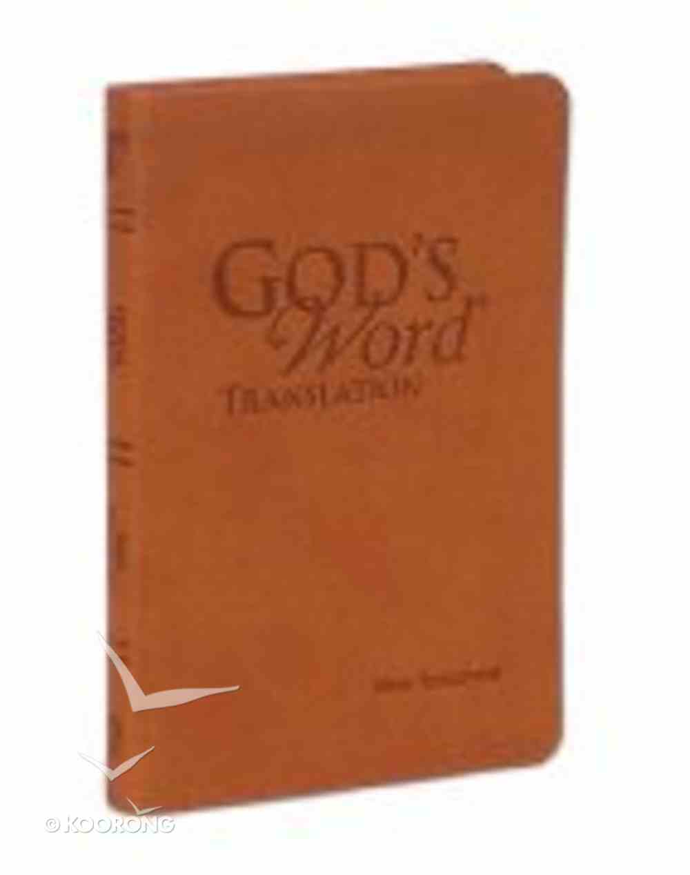God's Word Pocket New Testament Saddle Imitation Leather
