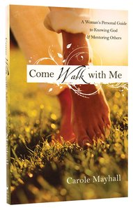 Product: Come Walk With Me Image