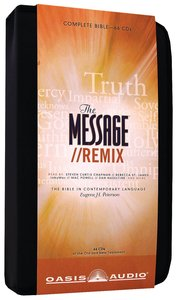 Album Image for Message//Remix Complete Bible on Audio CD With Carrying Case (66 Cds) - DISC 1