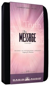Album Image for Message Complete Bible on Audio CD With Carrying Case (66 Cds) - DISC 1
