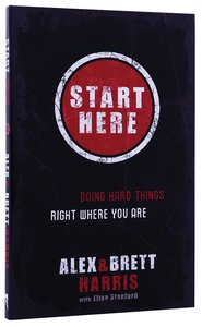 Product: Start Here Image