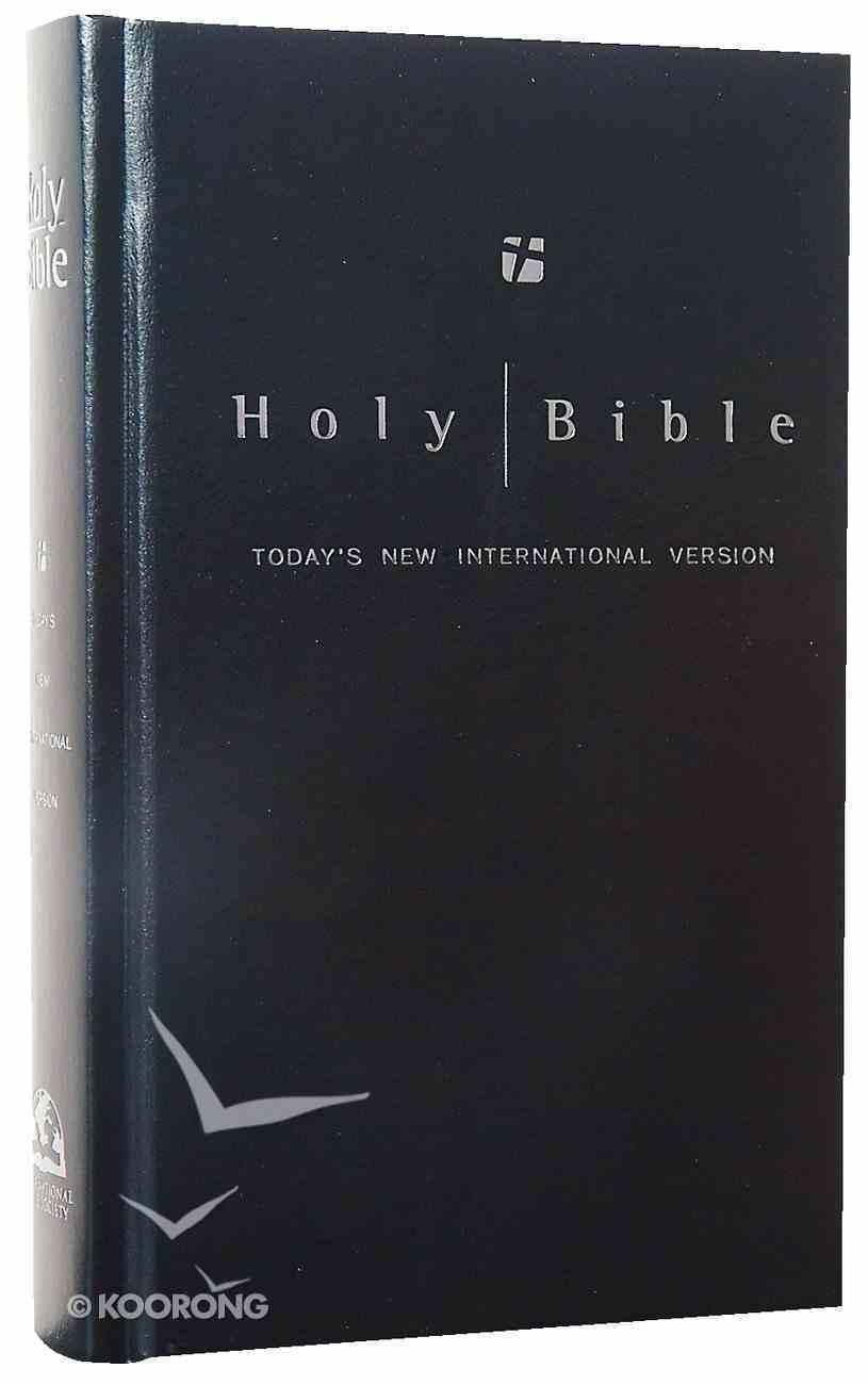TNIV Worship Edition Black Hardcover Hardback