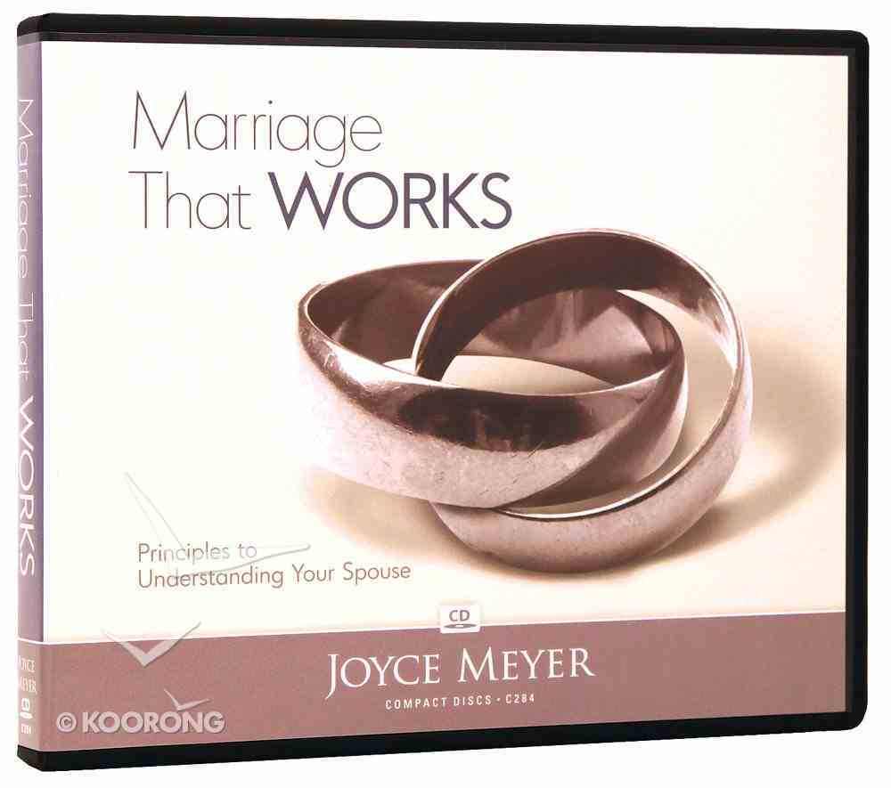 Marriage That Works (5 Cds) CD