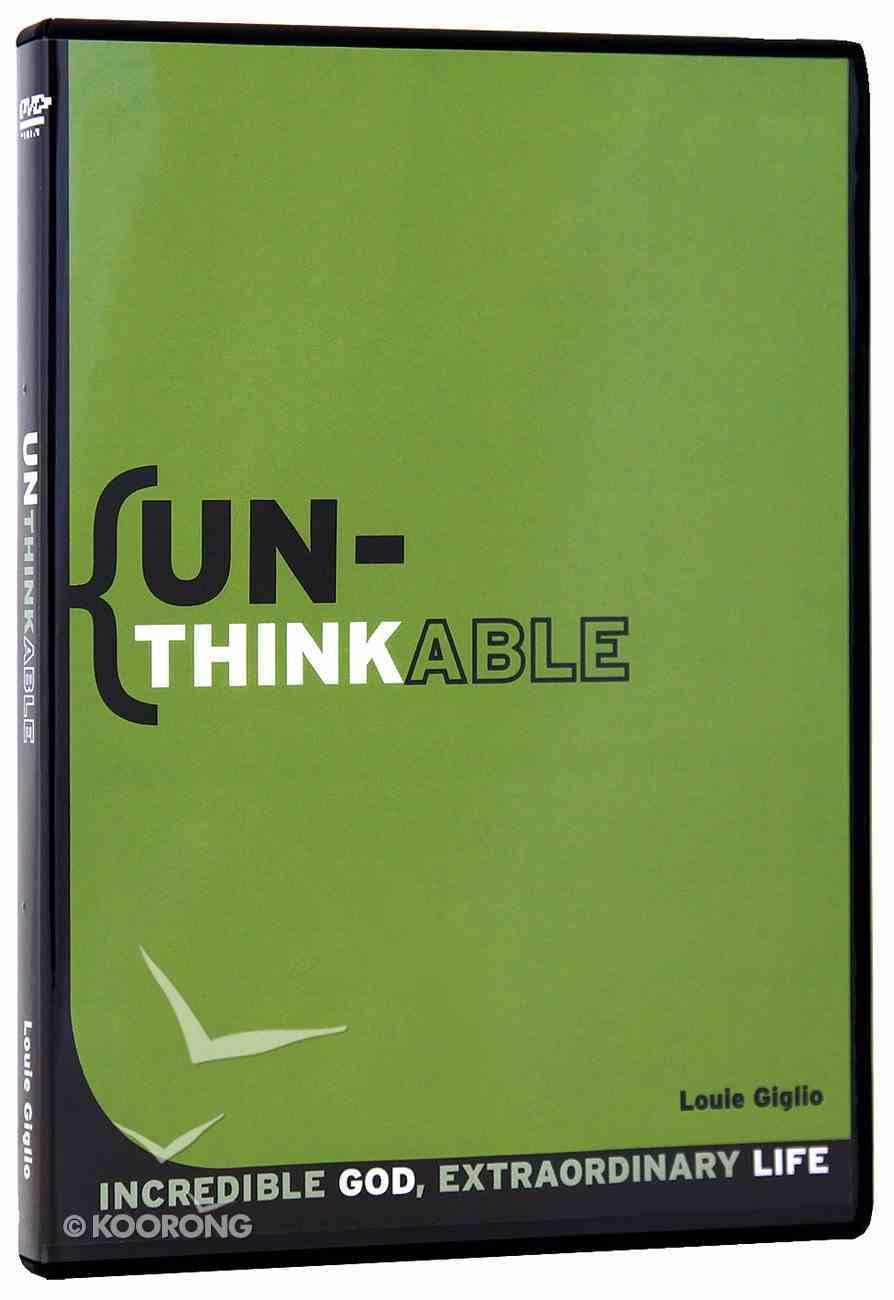 Unthinkable (5 Part Dvd) DVD