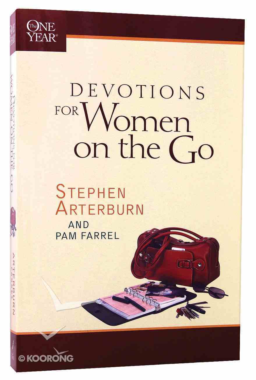 The One Year Book of Devotions For Women on the Go Paperback