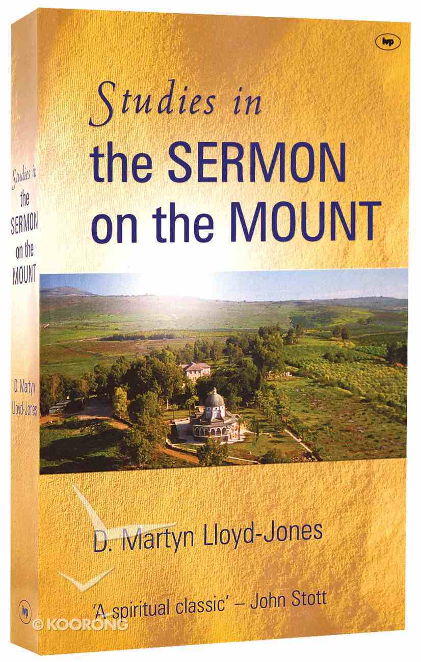 Studies in the Sermon on the Mount Paperback