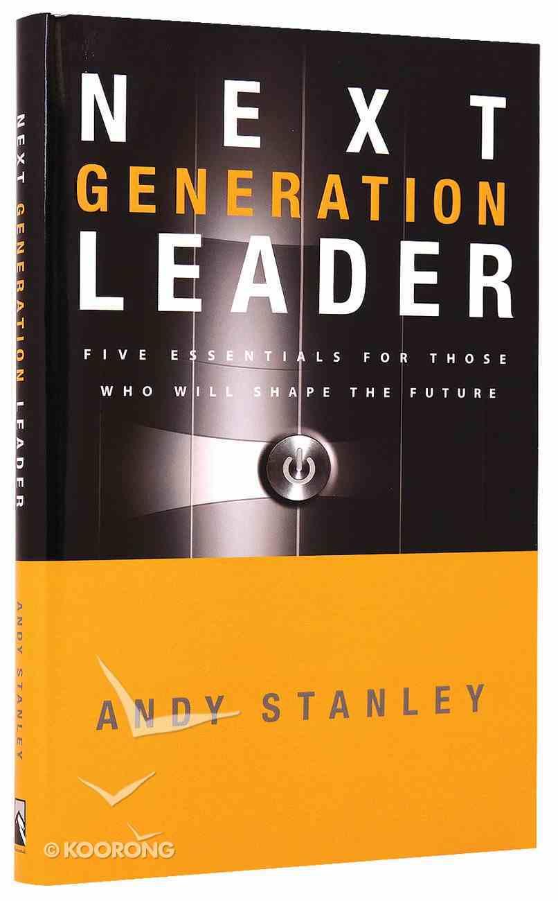 The Next Generation Leader Hardback
