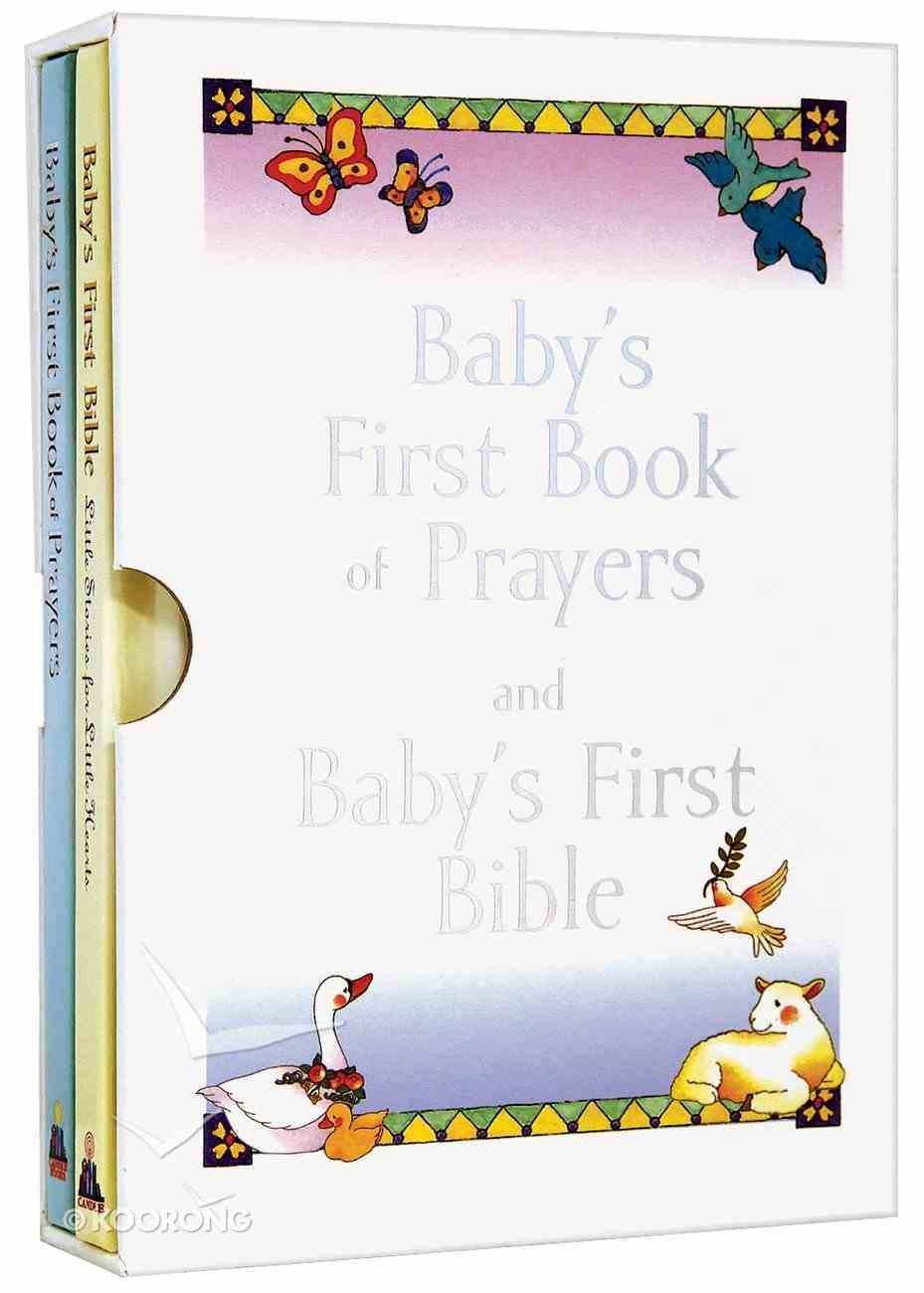 Baby's First Bible/Baby's First Book of Prayers Gift Set Pack
