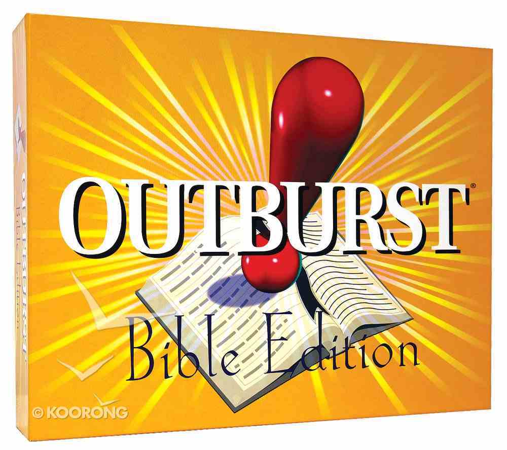 Outburst: Bible Edition Game
