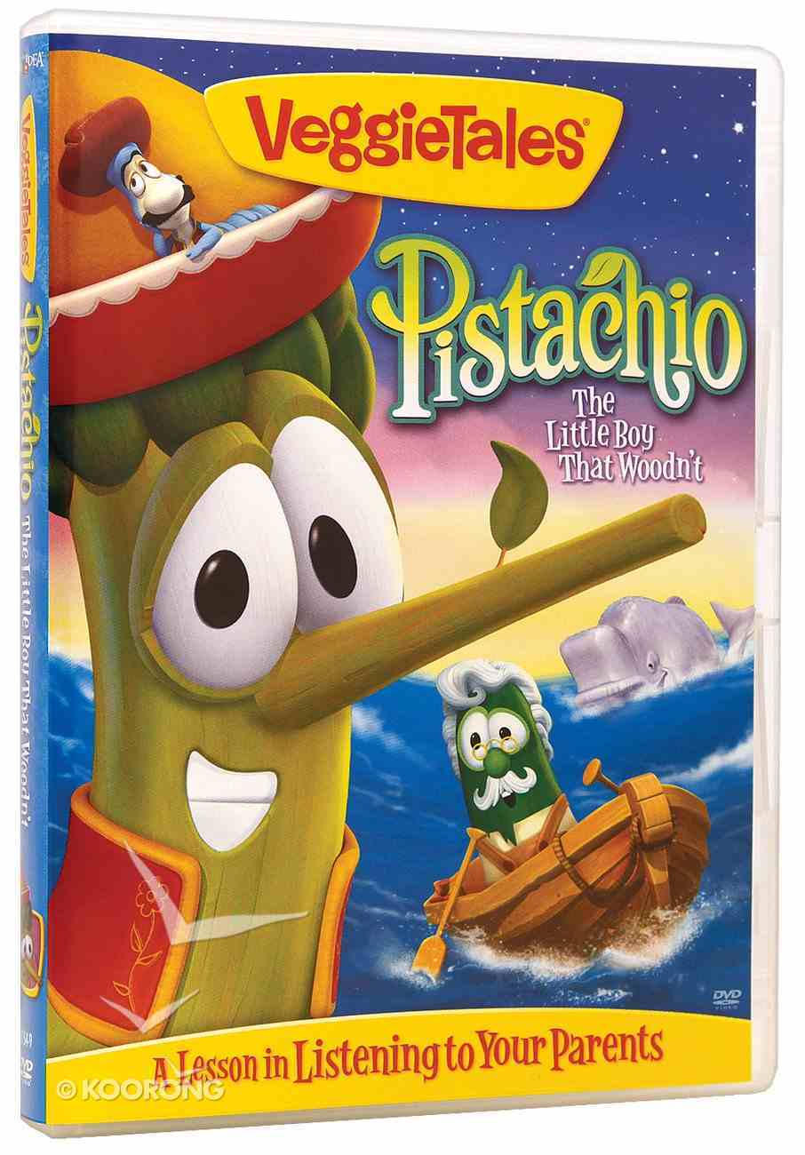 Veggie Tales #38: Pistachio the Little Boy That Woodn't (#038 in Veggie Tales Visual Series (Veggietales)) DVD